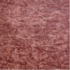 Самоклеющая 3д панель под кирпич бордовый мрамор 700*770*5мм