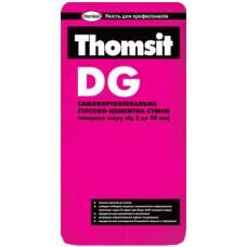 THOMSIT DG Самовыравнивающаяся гипсово-цементная смесь 3-30мм 25кг, міш