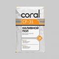 Стяжка цементная КОРАЛЛ CF-31, 25кг