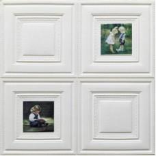 Самоклеющая 3д панель декоративная картина дети 700*770*8мм