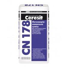 Легковыравнивающаяся смесь для пола CERESIT CN 178 25 кг
