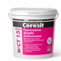 CERESIT СТ-15 Грунтующая краска силиконовая 10л, шт