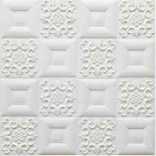 Самоклеющаяся 3D панель на потолок фигуры 700x700x5мм