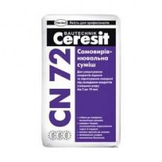 Самовыравнивающаяся смесь для пола CERESIT CN 72  25 кг