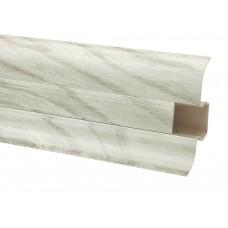 Плинтус ОМИС Premium Decor матовый вяз серебряный