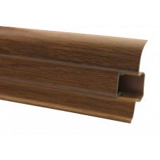 Плинтус ОМИС Premium Decor матовый дуб янтарный