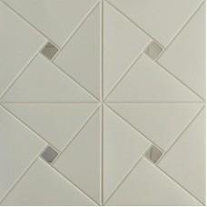 Самоклеющаяся 3D панель на потолок зеркало 700x700x6,5мм