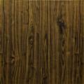 Самоклеющая 3д панель под дерево темный дуб 700*700*5мм