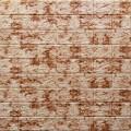 Самоклеющая 3д панель под кирпич красный мрамор 700*770*5мм