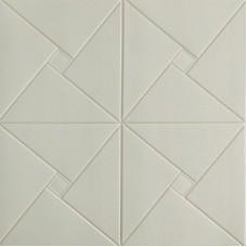 Самоклеющаяся 3D панель на потолок оригами 700x700x6,5мм