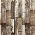 Самоклеющая 3д панель под дерево коричневый 700*700*5мм