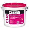 CERESIT СT-40 Структурная акриловая фасадная краска 10л