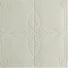 Самоклеющаяся 3D панель на потолок орнамент 700x700x5мм