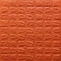 Самоклеющая 3д панель под кирпич оранжевый 700*770*7мм