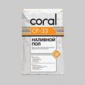 Тонкослойный наливной пол КОРАЛЛ CF-33, 25кг